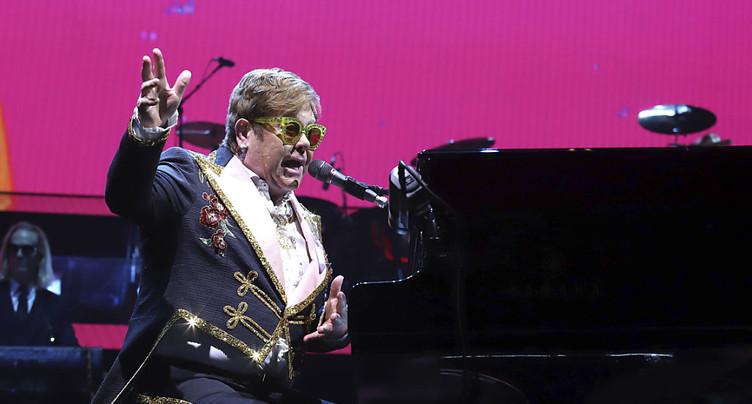 Au Montreux Jazz, Elton John chantera dans un stade