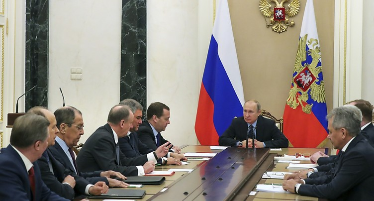 Les Etats-Unis appellent à Genève les pays à s'unir contre Moscou