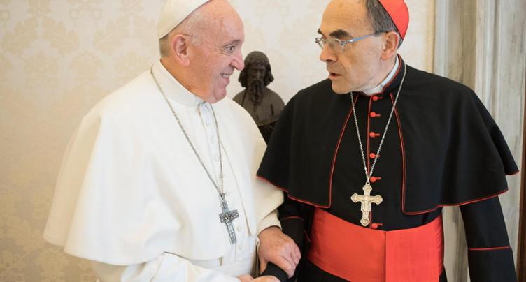 Le pape refuse la démission du cardinal français Barbarin
