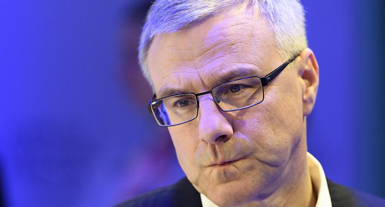 Salaire réduit en 2018 pour le patron d'Adecco, Alain Dehaze