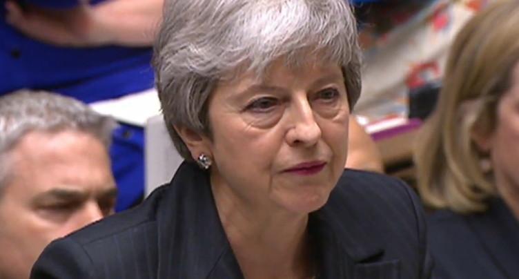 May réclame à l'UE un report du Brexit jusqu'au 30 juin