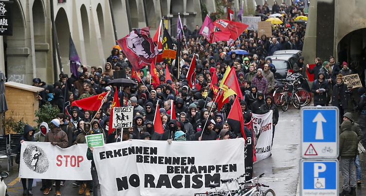 Légère hausse des incidents racistes l'an dernier