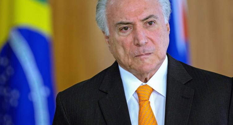 L'ex-président brésilien Michel Temer a été arrêté