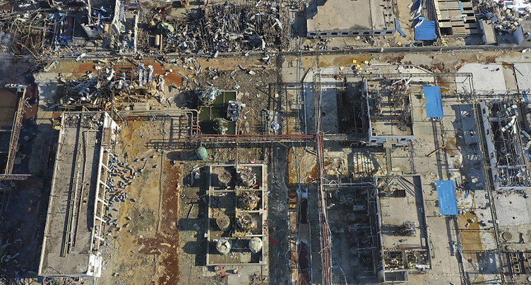 Explosion dans une usine chinoise: le bilan monte à 44 morts