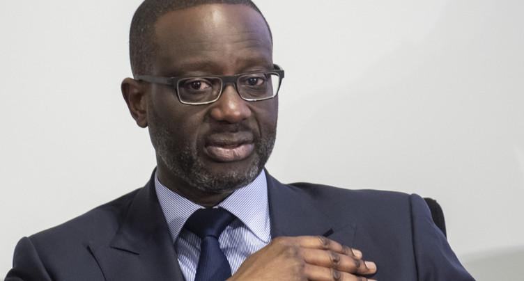 Envolée du salaire du patron de Credit Suisse Tidjane Thiam