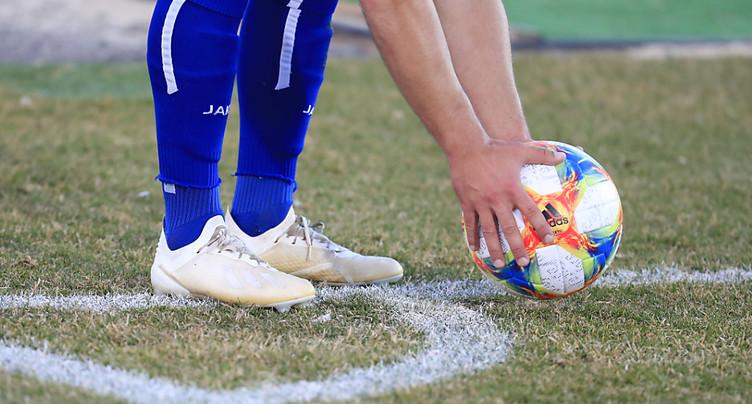 Footballeur fribourgeois condamné après un tacle