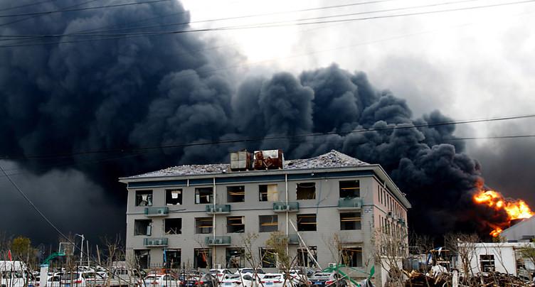 Explosion chimique en Chine: 64 morts, selon un nouveau bilan
