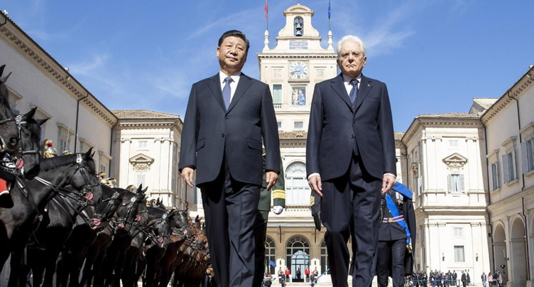 Routes de la soie: signature d'un protocole d'accord Italie-Chine
