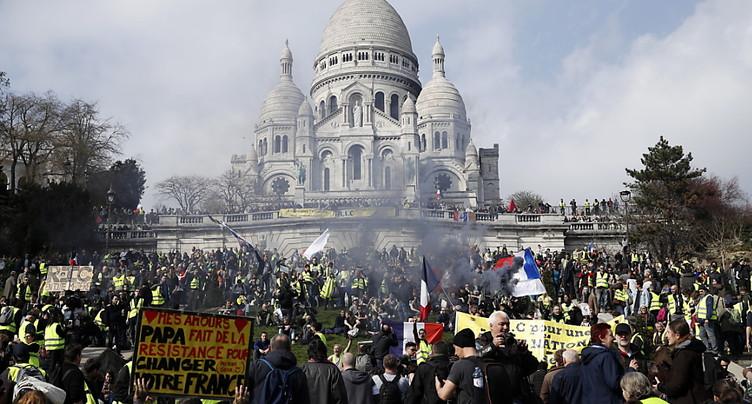 France: journée de manifestations de gilets jaunes à haut risque