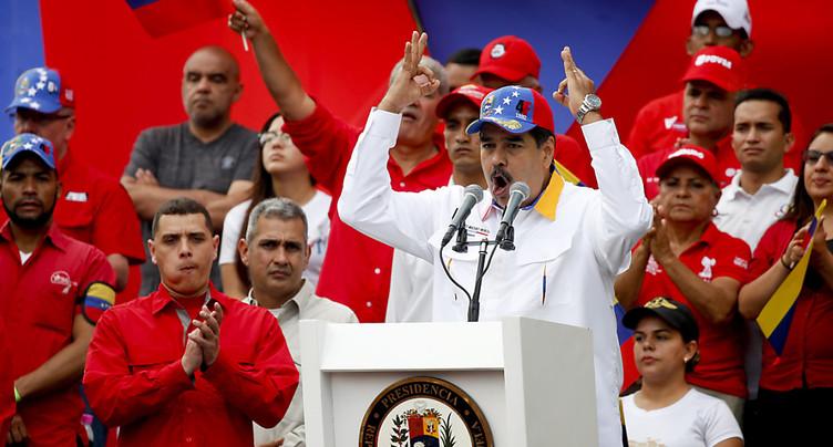 Venezuela: Guaido accusé de comploter avec l'argent des sanctions américaines