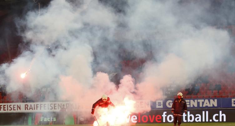 Match Sion-GC: la ville de Sion dépose plainte contre inconnu