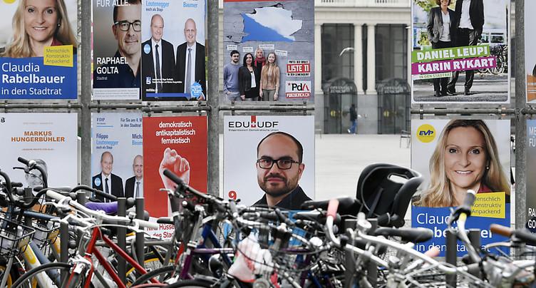 Résultats provisoires: l'UDC en voie de garder son 2e siège à Zurich