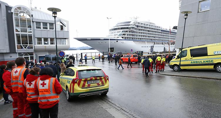 Norvège: dénouement en vue pour les 1373 occupants d'un paquebot