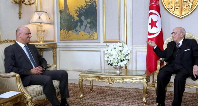Tunisie: Alain Berset signe une convention de sécurité sociale