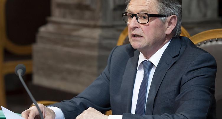 Isidor Baumann (PDC/UR) ne se représente pas cet automne