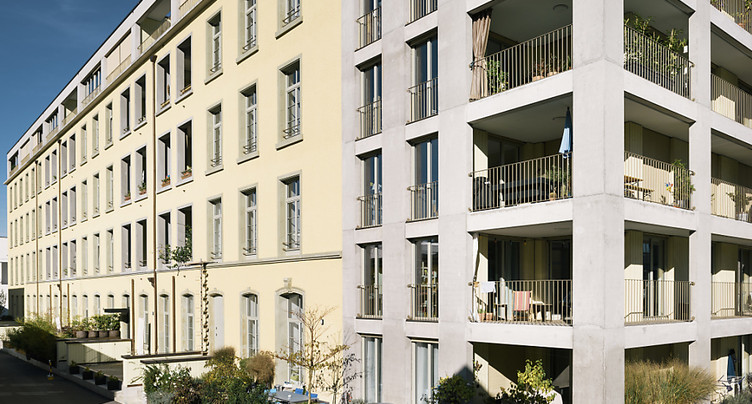 Même si la construction recule, de nombreux appartements sont vides