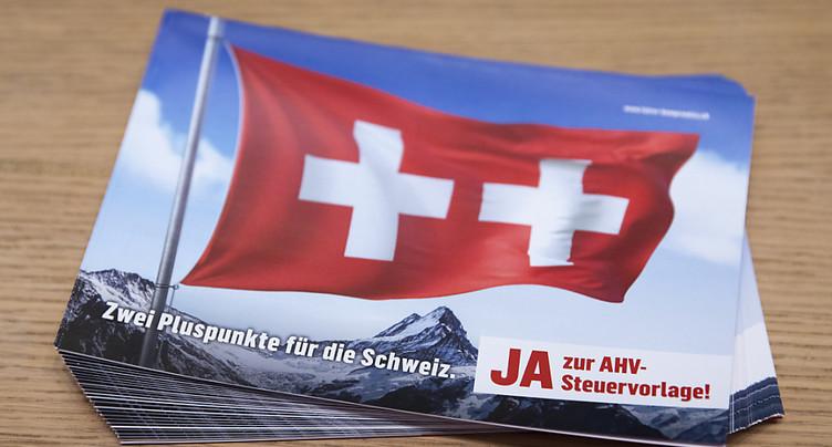 Les partis bourgeois lancent leur campagne pour le projet fiscal