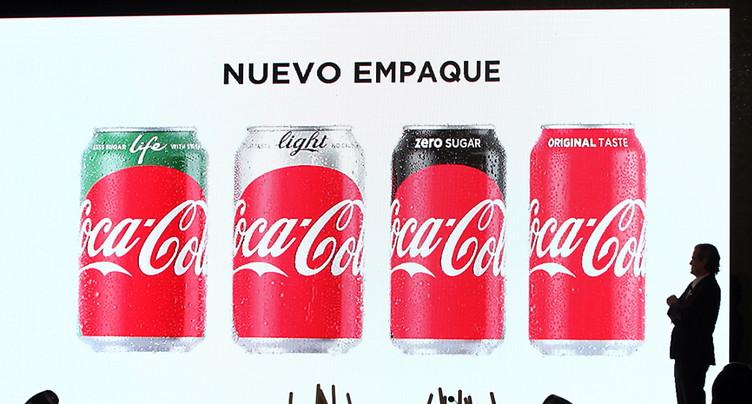 Selecta retire certains produits Coca-Cola de sa palette