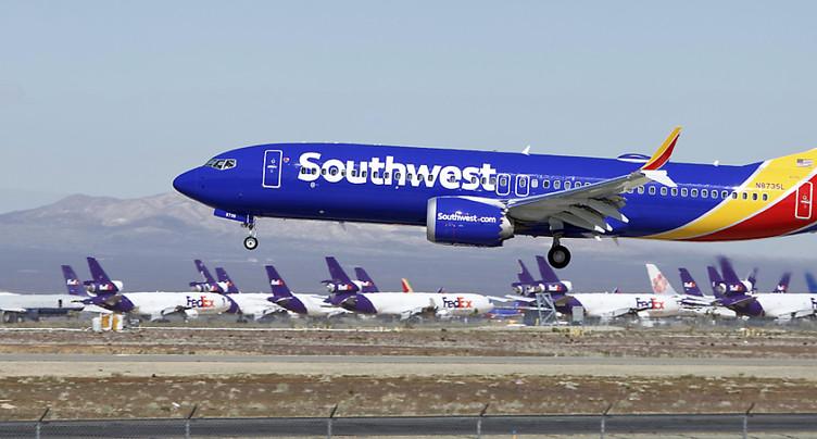 Atterrissage d'urgence d'un Boeing 737 MAX aux Etats-Unis