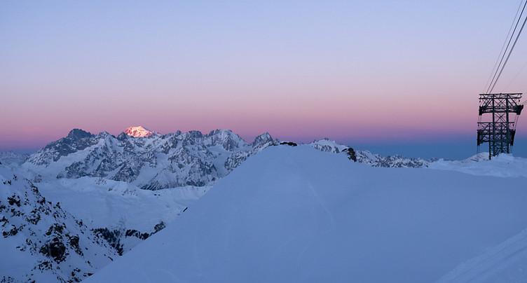 Un Pâques tardif n'empêche pas de skier