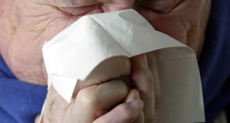L'épidémie de grippe a entraîné moins de morts que la moyenne
