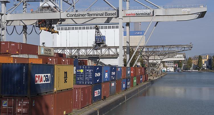 Les exportations helvétiques marquent une pause en mars