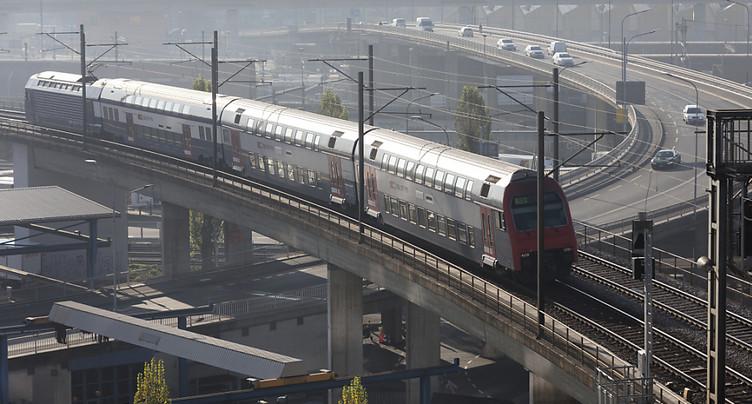 Voyager en transports publics reste très sûr en Suisse
