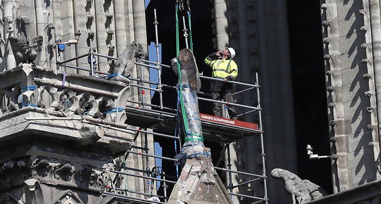 Les derniers tableaux de Notre-Dame mis en sécurité