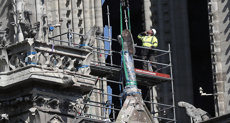 Notre-Dame « quasi sauvée », selon le ministre français de la culture