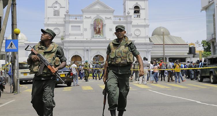 Explosions au Sri Lanka: des dizaines de morts et blessés