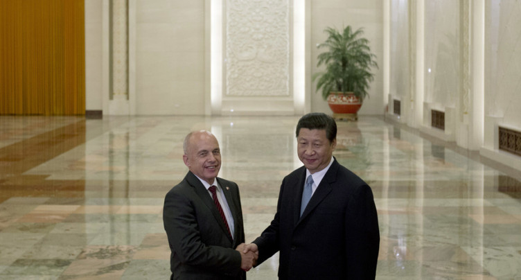 Ueli Maurer part en Chine pour une  visite d'Etat