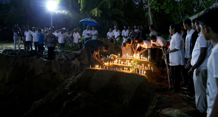 Une bombe artisanale désactivée près de l'aéroport de Colombo