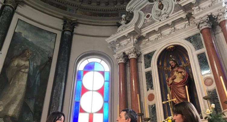 Ignazio Cassis sur les traces de l'art tessinois en Uruguay