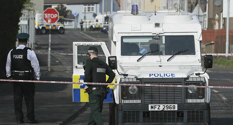 Décès d'une journaliste: la Nouvelle IRA admet sa responsabilité