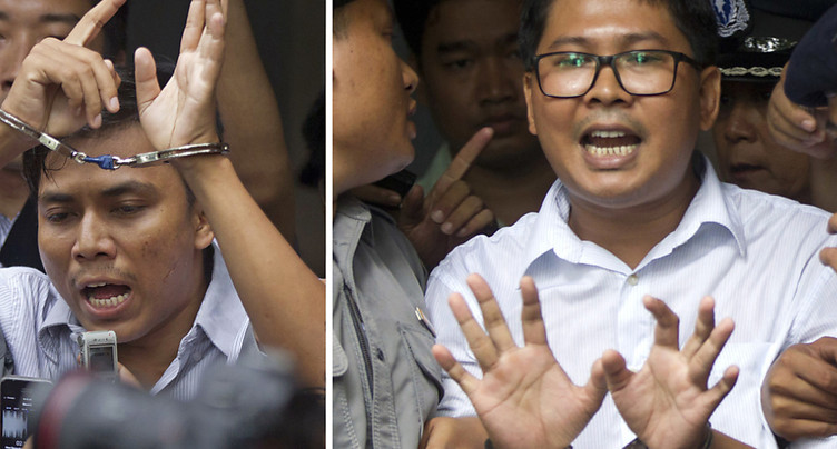 La Cour suprême birmane rejette le recours de deux journalistes
