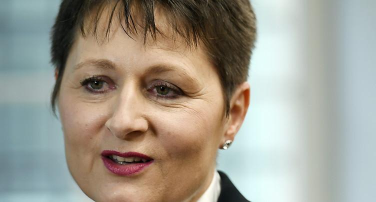 La ministre argovienne Franziska Roth quitte son parti, l'UDC
