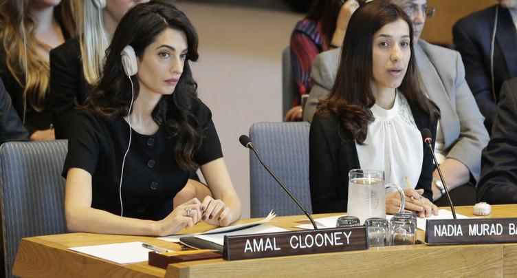 Les Nobel de la Paix 2018 réclament justice à l'ONU