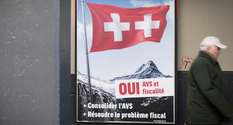 Le paquet fiscal lié à l'AVS toujours fortement approuvé