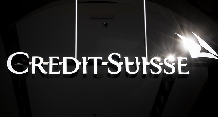 Bénéfice net de 749 millions pour Credit Suisse au 1er trimestre