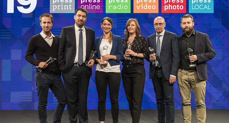 Une journaliste romande primée au Swiss Press Award