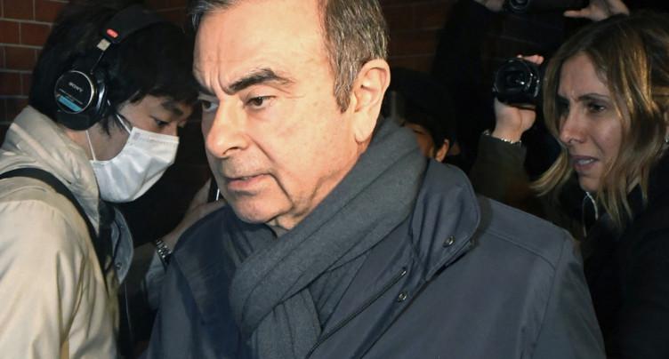 Le tribunal de Tokyo approuve la libération sous caution de Ghosn