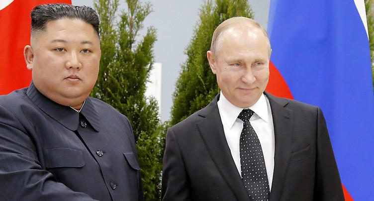 Début du sommet Poutine-Kim à Vladivostok