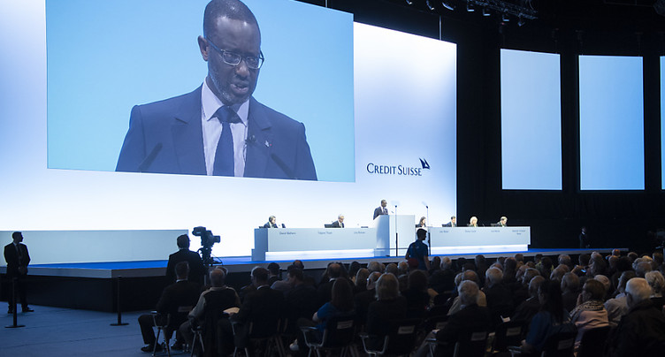Le patron de Credit Suisse table sur un rebond de l'action