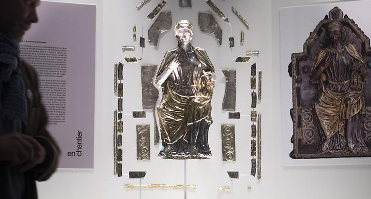 L'abbaye de St-Maurice (VS) présente une nouvelle exposition