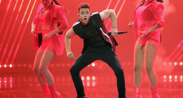 Le Bernois Luca Hänni qualifié pour la finale de l'Eurovision