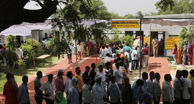 Ultime jour de vote pour les élections géantes en Inde