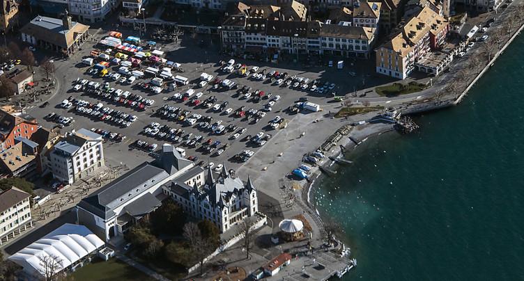 Place du Marché: le projet de parking souterrain enterré