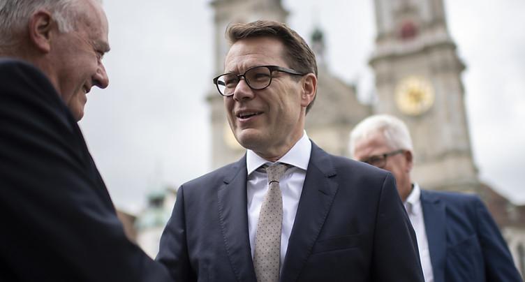 Benedikt Würth (PDC/SG) succède à Keller-Sutter (PLR) aux Etats