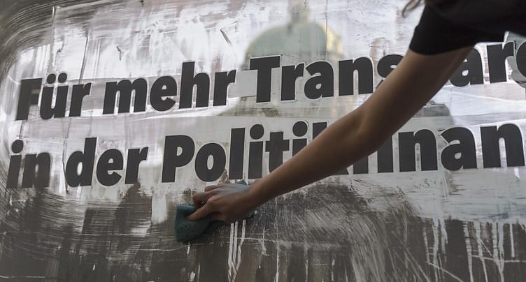 Financement transparent des partis ancré dans la loi schwyzoise