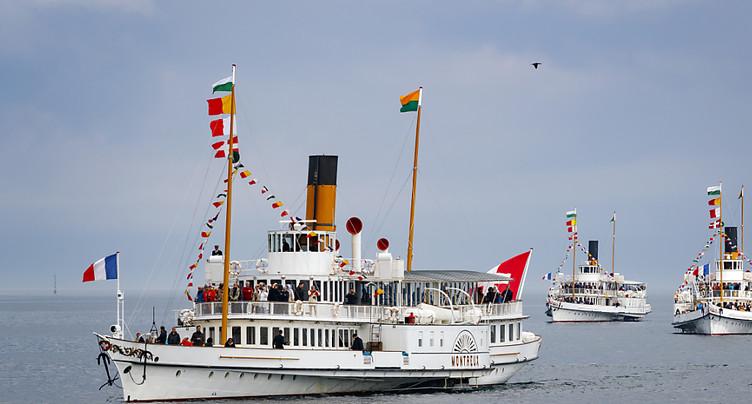 La Parade navale a attiré 5000 personnes à Rolle (VD)